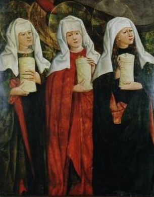 Nicolaus Haberschrack, Three Marys