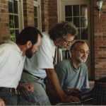 Happier times in 2001 with our dear friend Steve Estes
