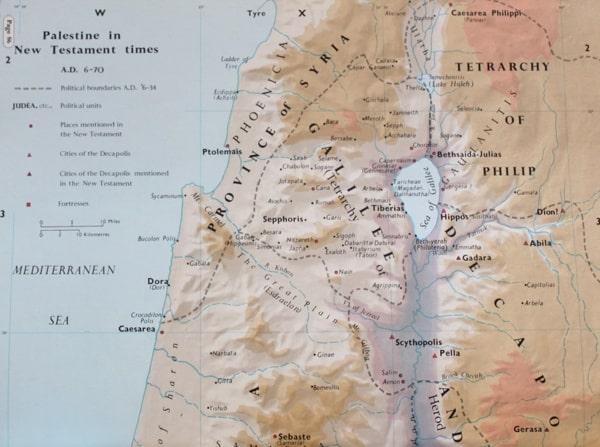 Pella Cherith Map