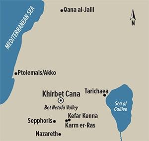 Cana Map