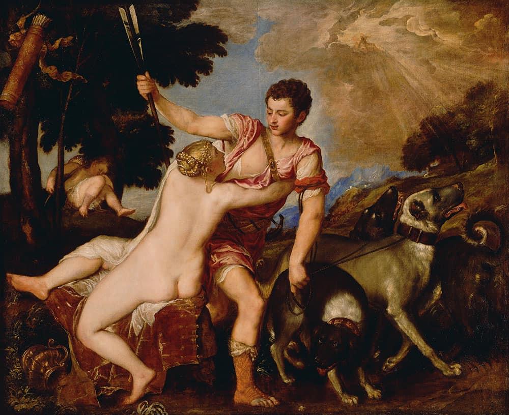 Adonis & Venus Vecellio