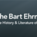 Check out My Guest Posting on Bart Ehrman's Blog...